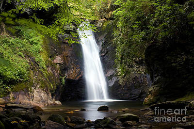 Courthouse Falls I 2010 Art Print by Matthew Turlington