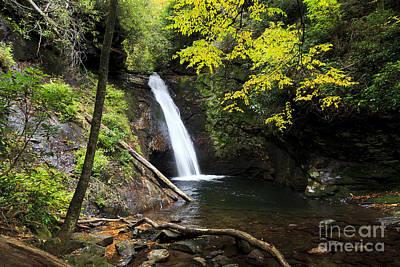 Photograph - Courthouse Falls In North Carolina by Jill Lang