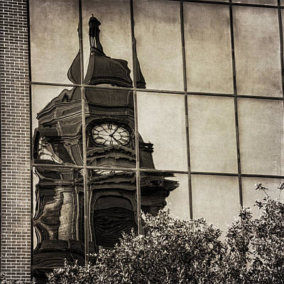 Courthouse Reflections Original by Joan Carroll