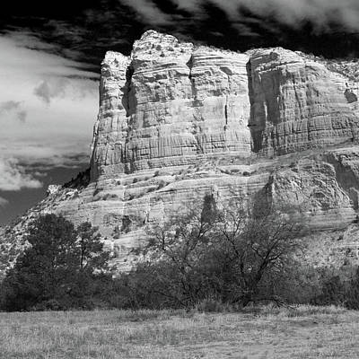 Photograph - Courthouse Rock by Harold Rau