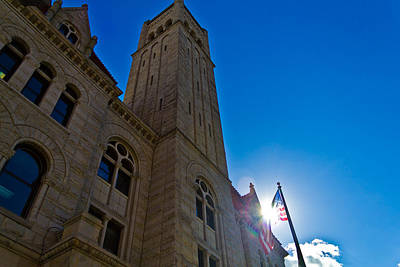 Photograph - Courthouse Tower by Jonny D
