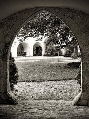 Photograph - Courtyard Contemplation by Menega Sabidussi