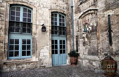 Photograph - Courtyard In Avignon by John Rizzuto