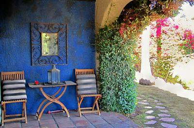 Photograph - Courtyard In The Desert by Lisa Dunn