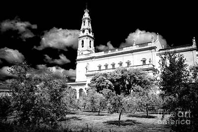 Photograph - Courtyard Of Fatima by John Rizzuto