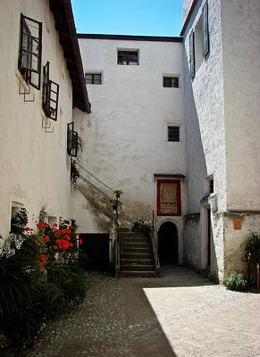 Photograph - Courtyard Within Hohensalzburg by Ronda Broatch