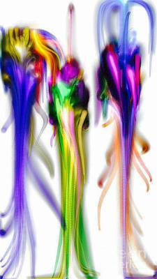 Conformity Digital Art - Couture 2 by Kim Peto