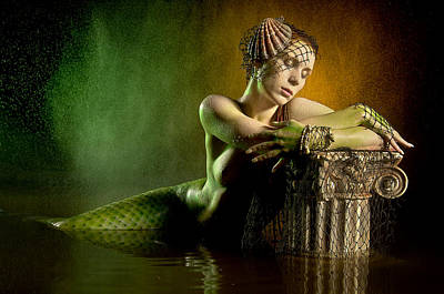Couture Mermaid Art Print by Adam Chilson