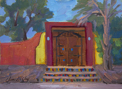 Painting - Cove Doorway 2 by Diane McClary