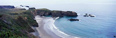 Cove On North Coast, California, Usa Art Print by Panoramic Images