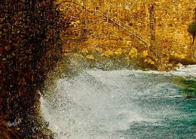Digital Art - Cove Surge by Jim Pavelle