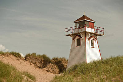 Photograph - Covehead Lighthouse 3 by WB Johnston