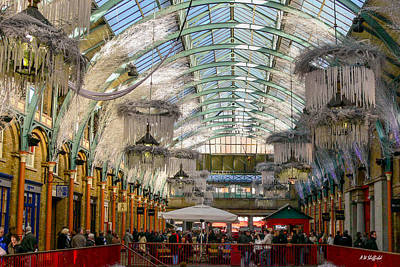 Photograph - Covent Garden by Allen Sheffield