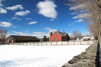 New England Dairy Farms Photograph - Coventry Farm by Andrea Galiffi