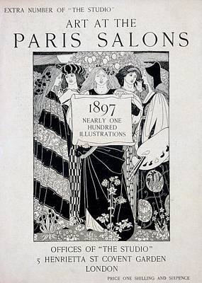 Studio Drawing - Cover For Art At The Paris Salons by English School