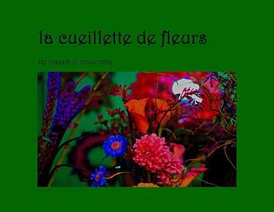 Photograph - Cover Photo La Cueillette De Fleurs by Joseph Coulombe