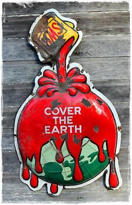 Cover The Earth Art Print