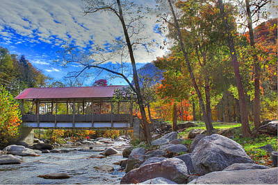 Photograph - Covered Bridge by Albert Fadel