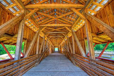 Caravaggio - Covered bridge by Alexey Stiop