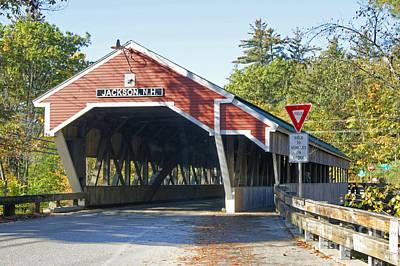 Photograph - Covered Bridge At Jackson by David Birchall