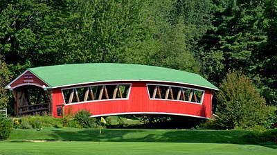 Photograph - Covered Bridge by Caroline Stella