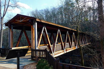 Photograph - Covered Bridge by Denise Mazzocco