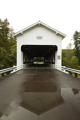 Owls - Covered Bridge Dorena 3 by John Brueske