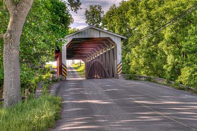 Photograph - Covered Bridge by Jim Thompson