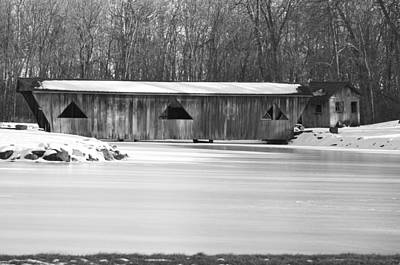 Covered Bridge Art Print by Jennifer  King