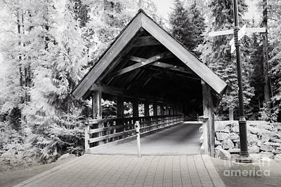 Photograph - Covered Bridge by Jon Burch Photography