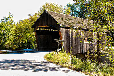 Photograph - Covered Bridge by Mary Carol Story