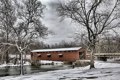 Photograph - Covered Bridge  by Mike Flake