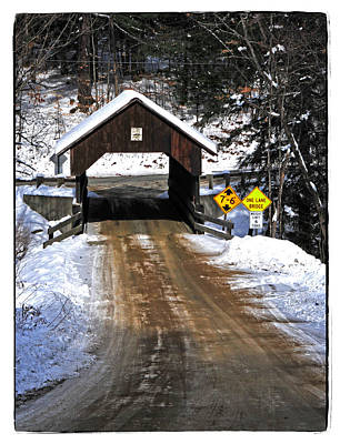 Photograph - Covered Bridge No. 22 by Mike Martin