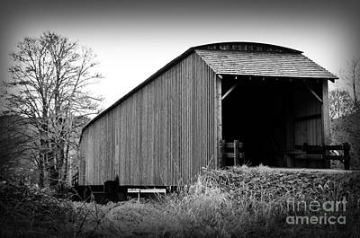 Photograph - Covered Bridge by Sarah Schroder
