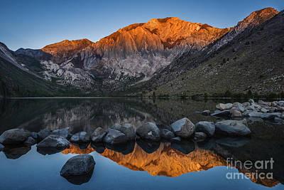 Convict Lake Photograph - Convict Lake Sunrise by Vishwanath Bhat