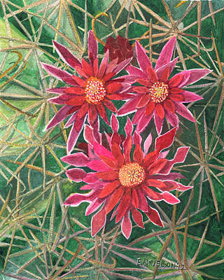 Painting - Coville Barrel Blossoms by Eric Samuelson