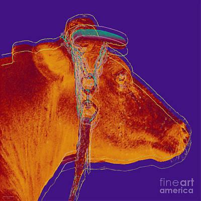 Cow Pop Art Art Print