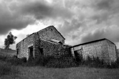 Photograph - Cow Shed by Stewart Scott