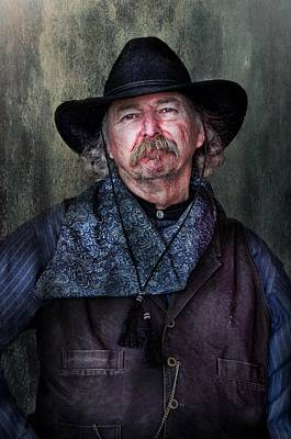 Photograph - Cowboy by Barbara Manis