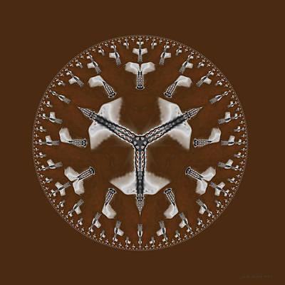 Digital Art - Cowboy Bolo Tie by Judi Suni Hall