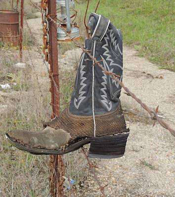 Photograph - Cowboy Boot Two by Todd Sherlock