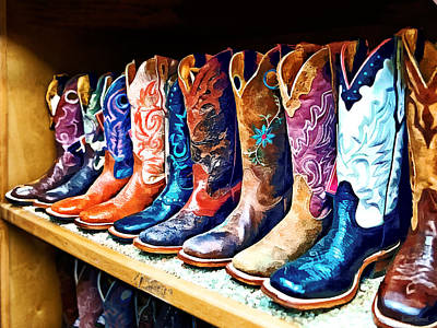 Photograph - Cowboy Boots by Susan Savad