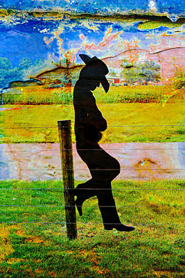 Photograph - Cowboy Relaxing by Carlos Diaz