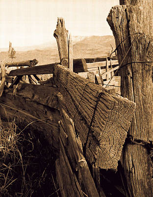 Photograph - Cowboy Corral by Dennis Galloway