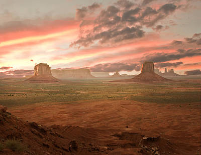 Cowboy Country Art Print by Randall Branham
