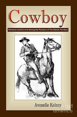 Digital Art - Cowboy Cover Art by Nola Lee Kelsey