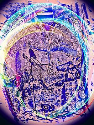Etc. Digital Art - Cowboy Days by HollyWood Creation By linda zanini