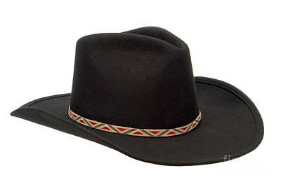 Cowboy Hat Photograph - Cowboy Felt Hat by Olivier Le Queinec