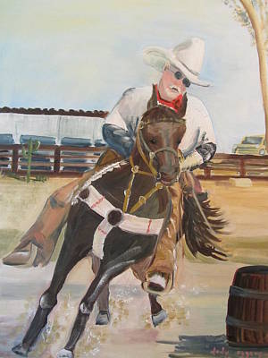 Painting - Cowboy Fun by Dody Rogers