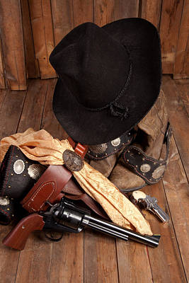 Photograph - Cowboy Gear by Scott Sanders